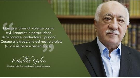 La dichiarazione di Fethullah Gülen sull'Isis e le sue condoglianze per le vittime del terrorismo.