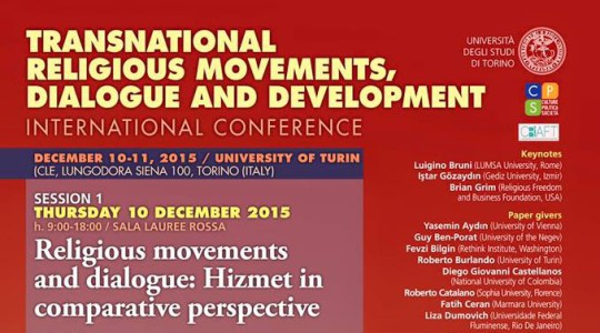 Transnational Religious Movements, Dialogue and Economic Development: The Hizmet Movement in Comparative Perspective