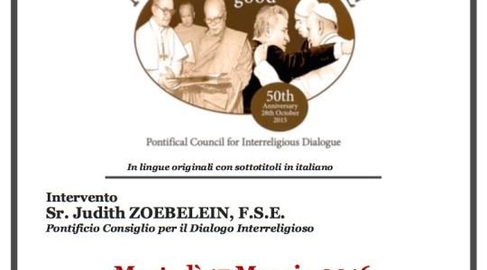 """Proiezione del film-documentario Nostra Aetate """"The leaven of good"""""""