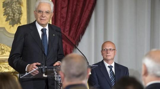 Intervento del Presidente della Repubblica Sergio Mattarella alla cerimonia del Ventaglio