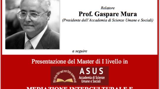 """""""Il monoteismo e la critica della cultura moderna"""" - Prof. Gaspare Mura"""
