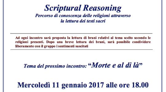 Scriptural Reasoning: